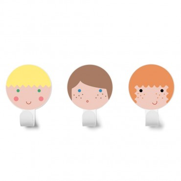 KIT 3 COLGADORES FRIENDS 3