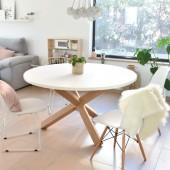 mesa redonda estilo nordico munich