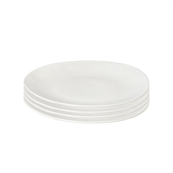 SET DE 4 PLATOS DE POSTRE SANDVIG
