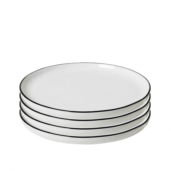 SET DE 4 PLATOS DE POSTRE SALT