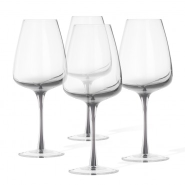 SET 4 COPAS DE VINO BLANCO SMOKE