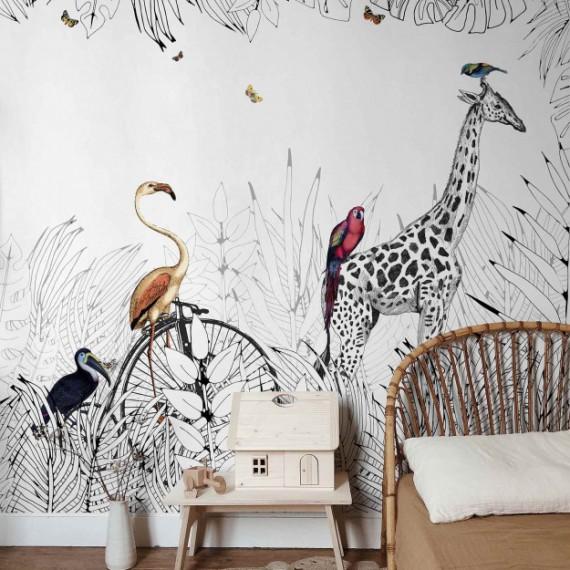 Mural de papel pintado Metrozoo