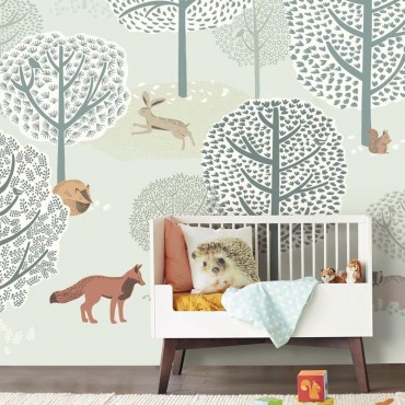 PAPEL PINTADO MINI ME FOREST