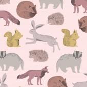 PAPEL PINTADO MINI ME ANIMALS